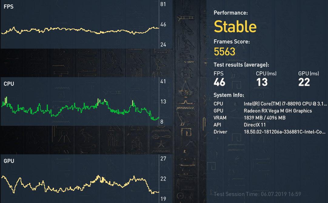 Тест и обзор игрового мини-компьютера (платформы) NUC8i7HVK