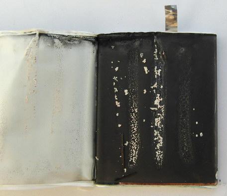 Повреждения литий-ионного аккумулятора